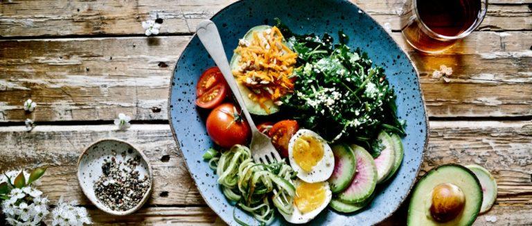 gute Gewohnheiten beschrieben durch gesundes Essen