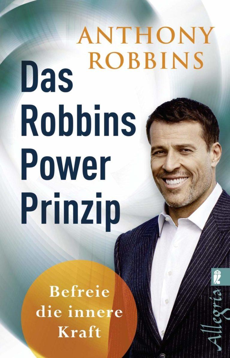 Bücher über Selbstbewusstsein Das Robbins Power Prinzip Buchcover