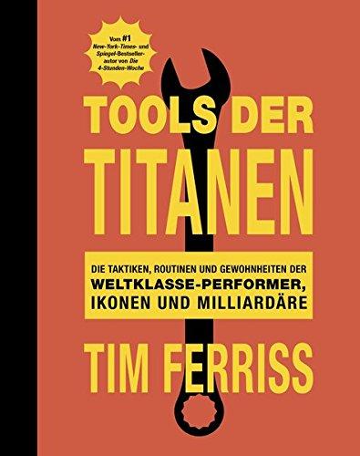 Bücher über Erfolg Cover 2 Tools der Titanen