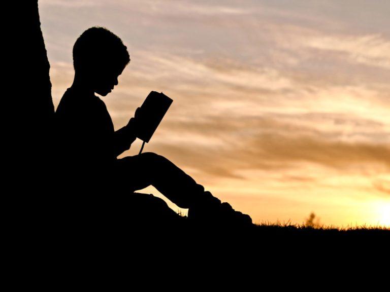 Perfektionismus ablegen erklärt durch ein Kind, das ein Buch liest - Perfektionismus beginnt im Kindheitsalter
