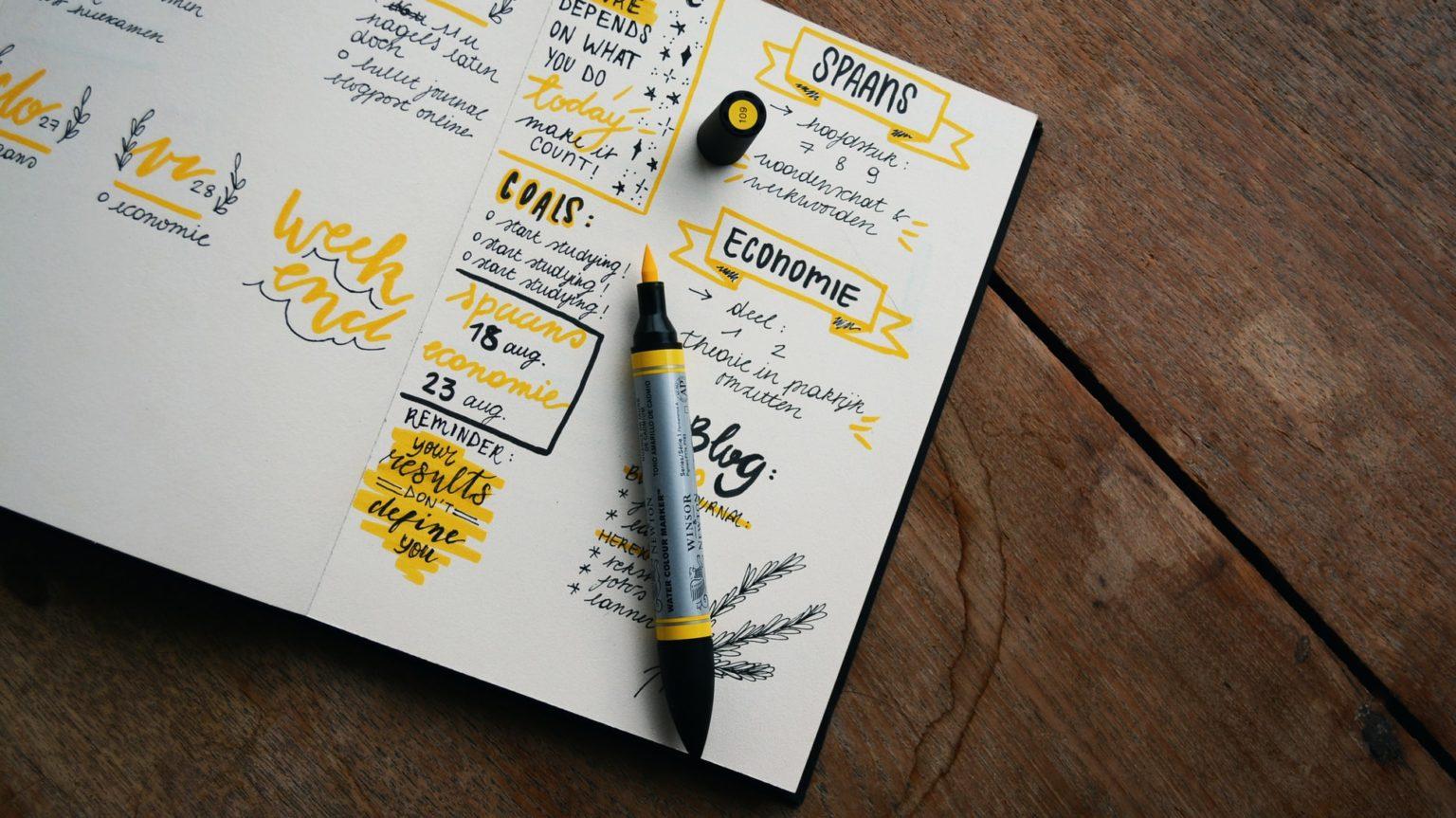 Bullet Journal Starten Beispiel Journal